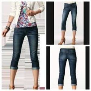 CAbi Johnny Crop Jeans